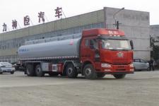 国六解放前四后八普通液体运输车