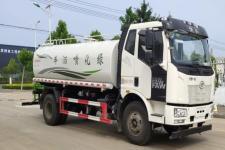 國五解放8-10方灑水車廠家專業定制包運輸