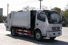 国六 东风多利卡8方压缩式垃圾车