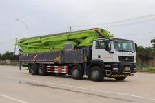 国六重汽汕德卡前四后八50米混凝土泵车 厂家直销  价格最低