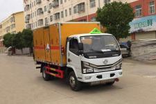国六东风多利卡5吨腐蚀性物品厢式运输车