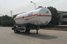 圣达因7.7米10.5吨1轴低温液体运输半挂车(SDY9181GDYN)