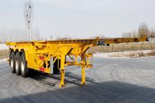 汇海越洋12.5米34吨3轴集装箱运输半挂车(YYP9400TJZ)