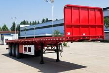 驰恒九州12米33.1吨3轴平板运输半挂车(CHV9400TPB)