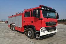 川消牌SXF5241GXFGF60型干粉消防车图片