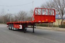 天骏德锦10.5米34.5吨3轴平板运输半挂车(TJV9400TPBE)