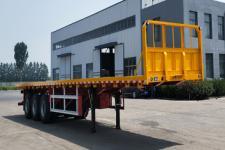 事事达12米34吨3轴平板运输半挂车(RSD9400TPB)