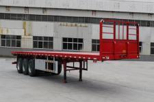 陆锋12.5米34吨平板运输半挂车