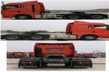 汕德卡牌ZZ4256V323HE1型牵引汽车图片