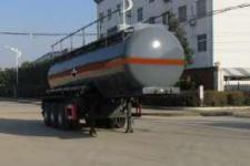 特運10米32.5噸3軸腐蝕性物品罐式運輸半掛車(DTA9401GFWC)