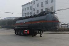 特運10.6米29.5噸3軸腐蝕性物品罐式運輸半掛車(DTA9406GFW)