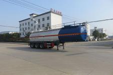 特运11.2米30吨3轴腐蚀性物品罐式运输半挂车(DTA9407GFW)