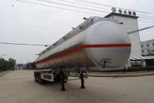 特運12.8米32.7噸3軸易燃液體罐式運輸半掛車(DTA9401GRYA)