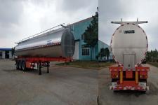 青特牌QDT9400GNY型鲜奶运输半挂车图片