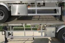 特运牌DTA9401GSY型铝合金食用油运输半挂车图片