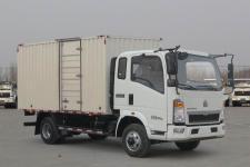重汽HOWO轻卡国五单桥厢式运输车95-212马力5吨以下(ZZ5047XXYF3315E145)