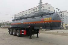 特运10米34吨3轴腐蚀性物品罐式运输半挂车(DTA9407GFWB)
