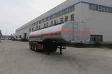 特运11.7米32.6吨3轴铝合金易燃液体罐式运输半挂车(DTA9408GRYB)