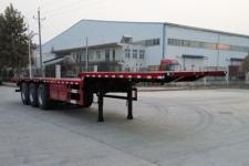 中基华烁12米33.8吨3轴平板运输半挂车(XHS9400TPBE)