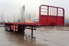 霸申特12米34.5噸3平板運輸半掛車