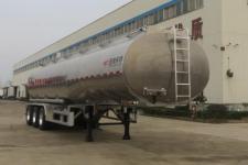 特运10.8米33.3吨3轴铝合金食用油运输半挂车(DTA9403GSY)