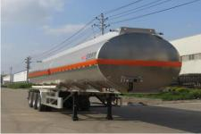 特运10.8米33.2吨3轴铝合金运油半挂车(DTA9408GYYC)