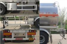 特运牌DTA9408GYYC型铝合金运油半挂车图片