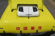 汕德卡牌ZZ4256V324HE1BX型牵引汽车图片
