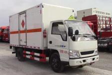 江铃国五易燃气体厢式运输车价格