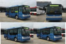 金龙牌XMQ6650AGBEVL1型纯电动城市客车图片2