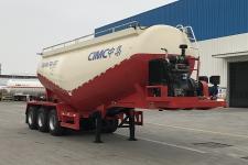 中集8.7米31.7吨3轴下灰半挂车(ZJV9404GXHJM)