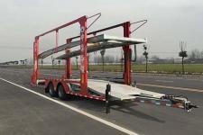 华骏12米7.4吨2轴中置轴车辆运输挂车(ZCZ9150TCLH)