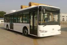 10.5米|19-40座金龙纯电动城市客车(XMQ6106AGBEVM3)