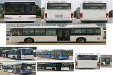 金龙牌XMQ6106AGBEVM3型纯电动城市客车图片3