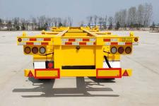 鲁际通牌LSJ9402TJZE型集装箱运输半挂车图片