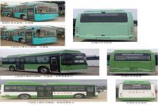 金龙牌XMQ6802AGBEVM1型纯电动城市客车图片2