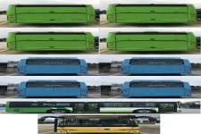 金龙牌XMQ6802AGBEVM1型纯电动城市客车图片3