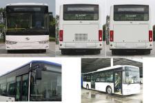 金龙牌XMQ6106AGBEVL25型纯电动城市客车图片3