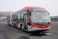 广通牌GTQ6186BEVBT20型纯电动铰接城市客车图片