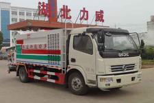 國六東風多利卡多功能噴霧抑塵車30-80m米廠家直銷最低價格