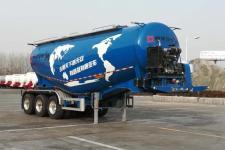 通亚达9.3米32吨3轴中密度粉粒物料运输半挂车(CTY9401GFLDB45)