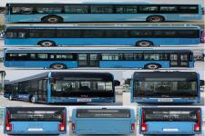金龙牌XMQ6127AGBEVL8型纯电动城市客车图片2