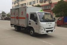 国六跃进3米3易燃气体厢式运输车厂家直销 价格最低