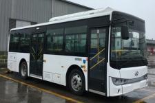 金龙牌XMQ6810AGBEVL2型纯电动城市客车图片