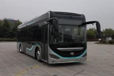 10.5米海格纯电动低入口城市客车