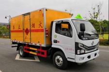 东风多利卡国六4米2易燃气体厢式运输车