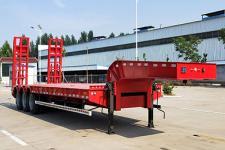 犇利12.5米30.9噸3軸低平板半掛車(WML9401TDP)