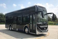 10.5米海格燃料电池低入口城市客车