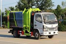国六东风多利卡5方餐厨垃圾车多少钱一辆