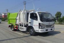 國六東風多利卡6方自裝卸式垃圾車